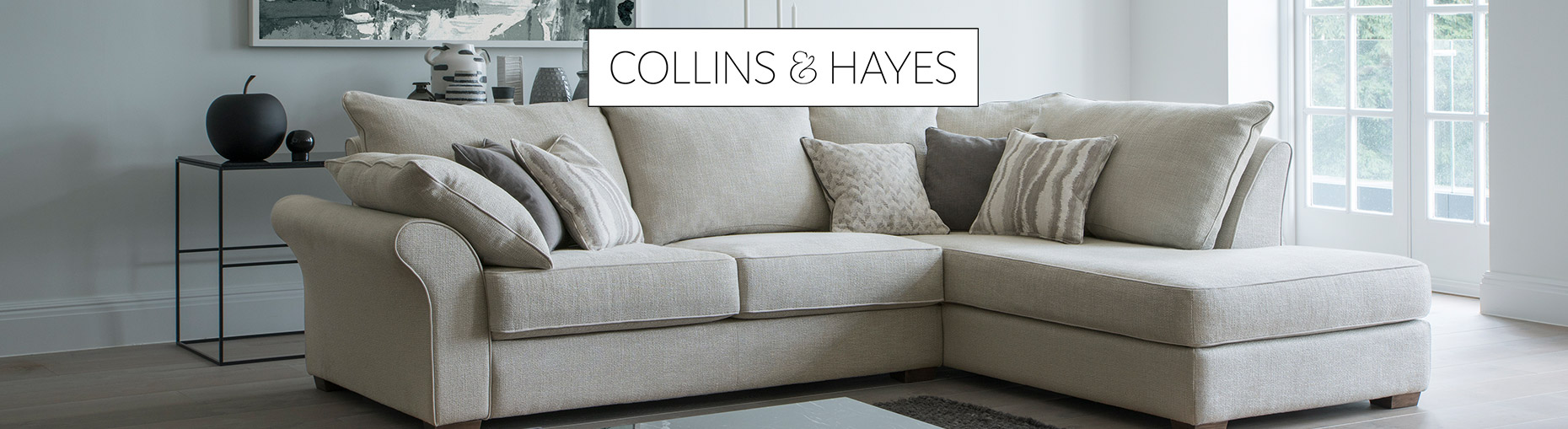 Collins and Hayes sofa collections at Forrest Furnishing