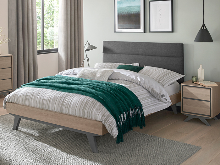 Copenhagen bedroom collection at Forrest Furnishing
