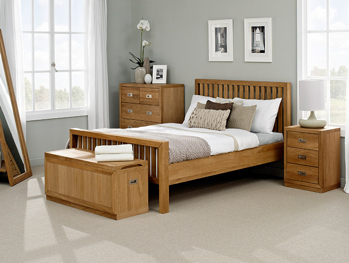 Corinthian bedroom collection at Forrest Furnishing