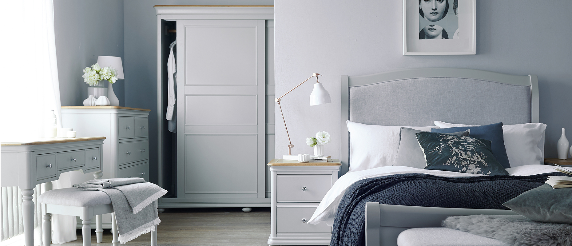 Devon Bedroom collection at Forrest Furnishing
