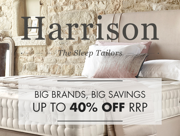Harrison Beds - The Sleep Tailors - Wide selction available at Forrest Furnishing