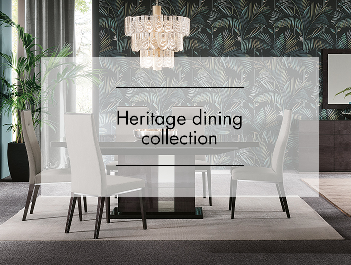 Heritage Dining Collection by ALF at Forrest Furnishing