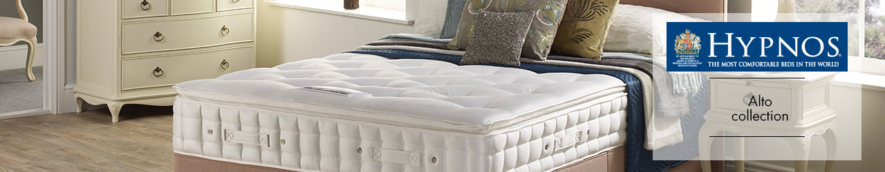 Alto Pillowtop Divan Collection by Hypnos at Forrest Furnishing