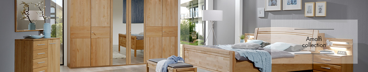 Amalfi bedroom collection by Wiemann Furniture