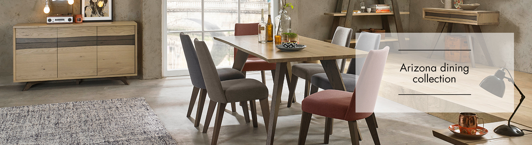 Arizona Dining collection at Forrest Furnishing