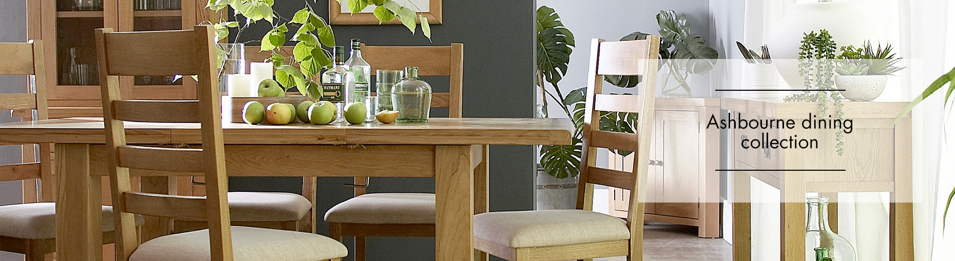 Ashbourne oak dining collection at Forrest Furnishing