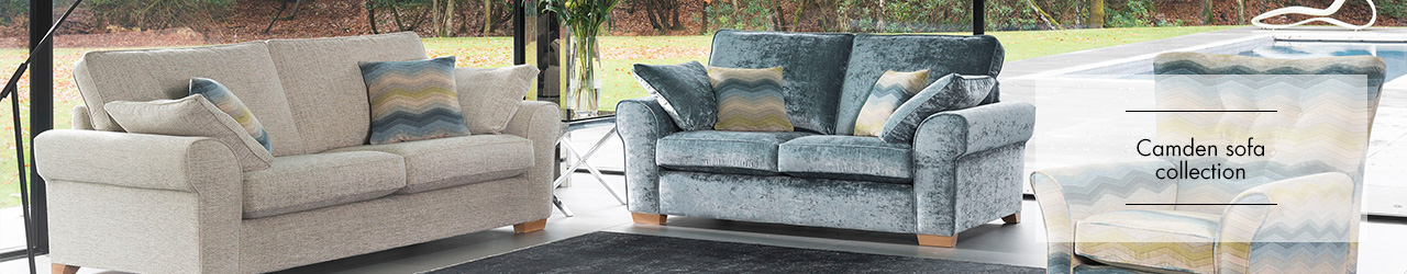 Alstons Camden Sofa collection at Forrest Furnishing