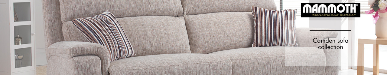 Camden Fabric Sofa Collection