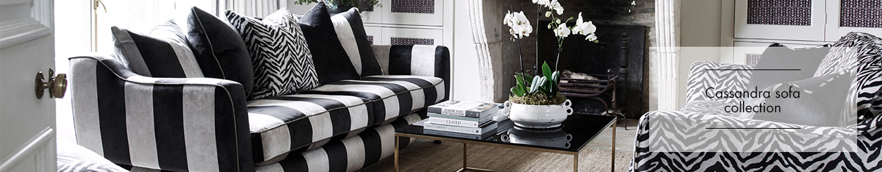 Cassandra Sofa collection at Forrest Furnishing