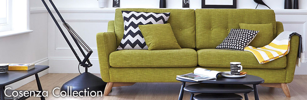 Cosenza sofa Collection by Ercol