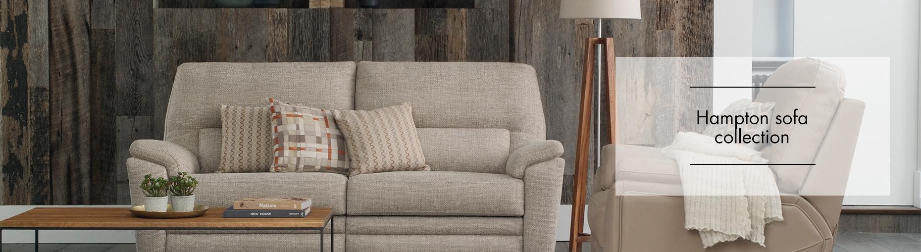 Hampton Fabric Sofa Collection