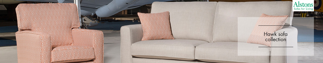 Hawk Sofa Collection by Alstons Upholstery