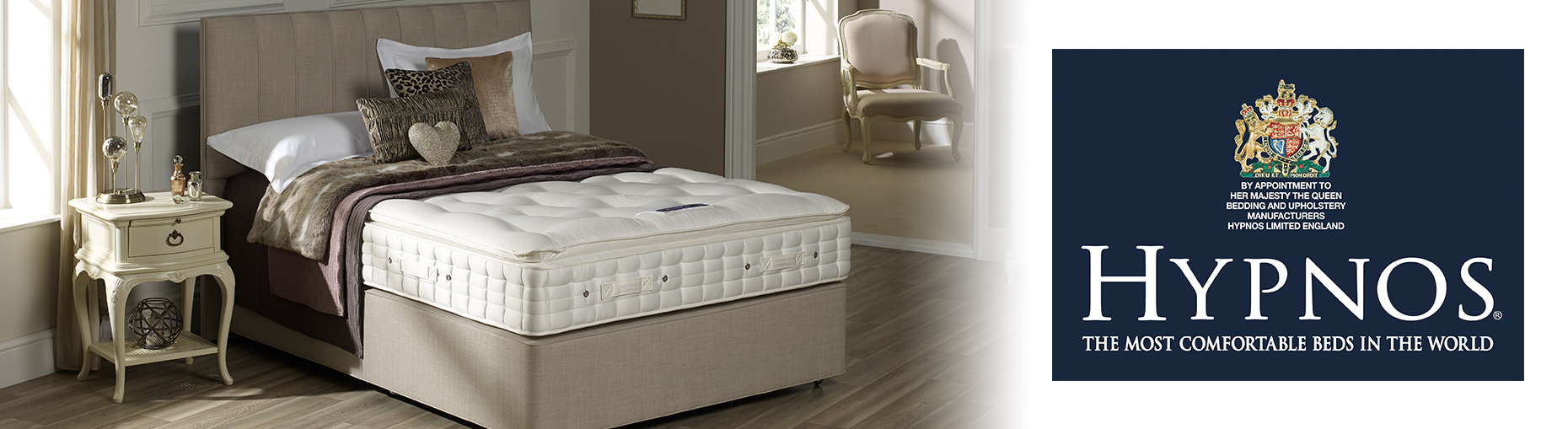 Hypnos Beds at Forrest Furnishing