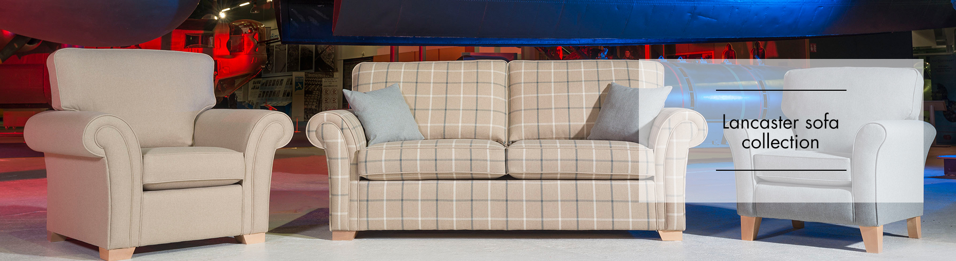 Lancaster Sofa Collection by Alstons Upholstery