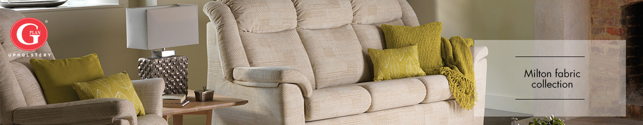 Milton Fabric Sofa Collection by G Plan Upholstery