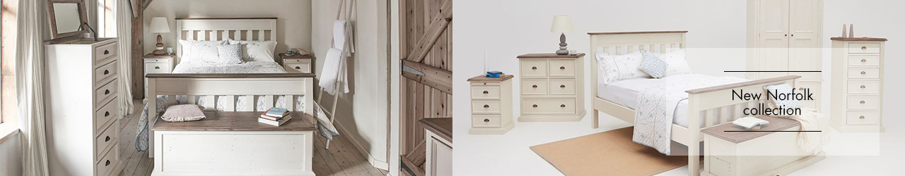 New Norfolk Bedroom collection at Forrest Furnishing