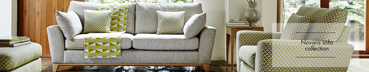 Novara Sofa Collection by Ercol at Forrest Furnishing