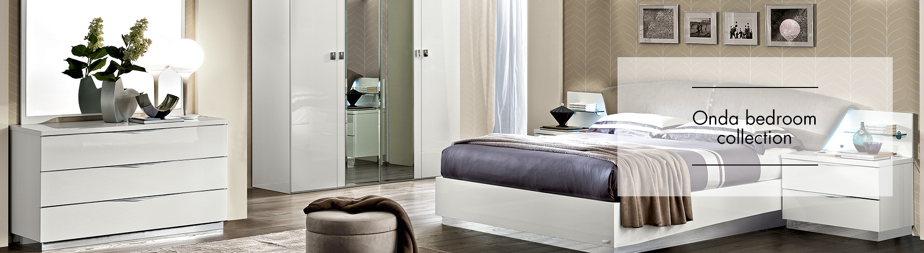 Onda bedroom Collection at Forrest Furnishing