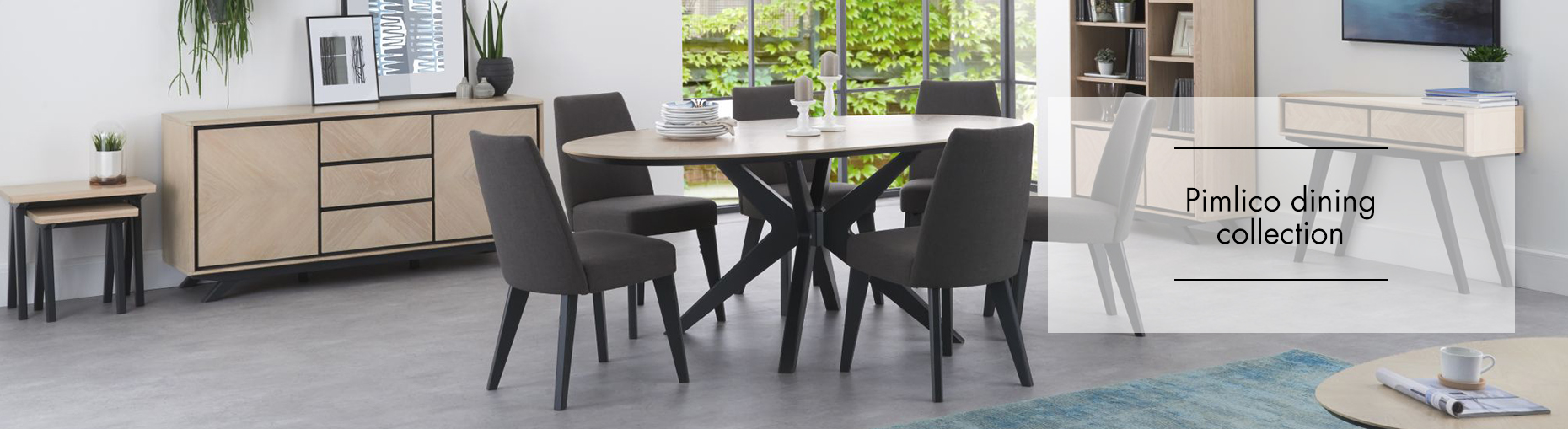 Pimlico Dining Collection at Forrest Furnishing