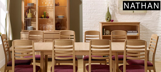 Shades Dining Collection in Oak