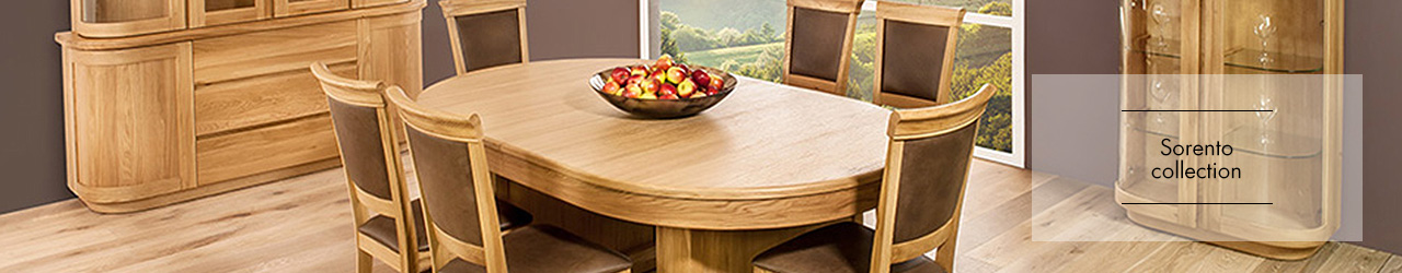 Sorento Dining collection