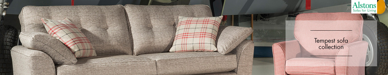 Tempest Sofa Collection by Alstons Upholstery
