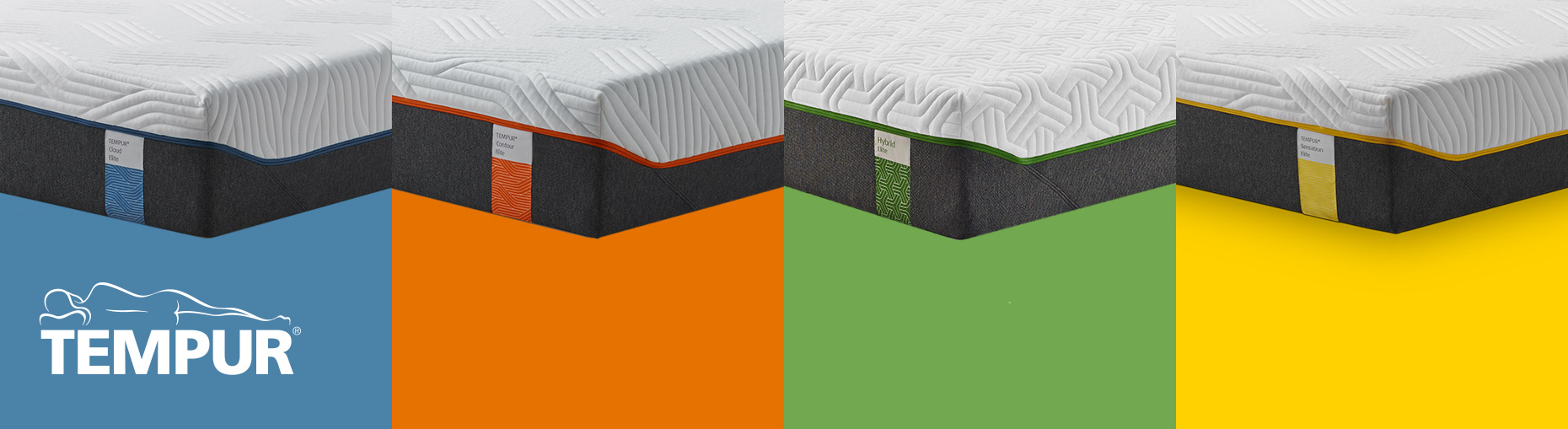 Tempur mattress collections at Forrest Furnishing