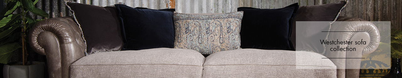 Westchester sofa collection by Tetrad at Forrest Furnishing