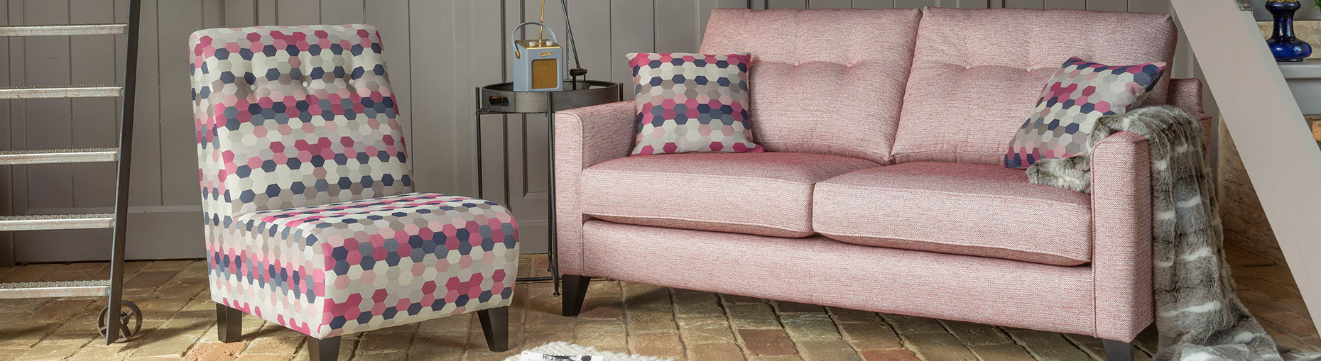 Lexi sofa collection at Forrest Furnishing