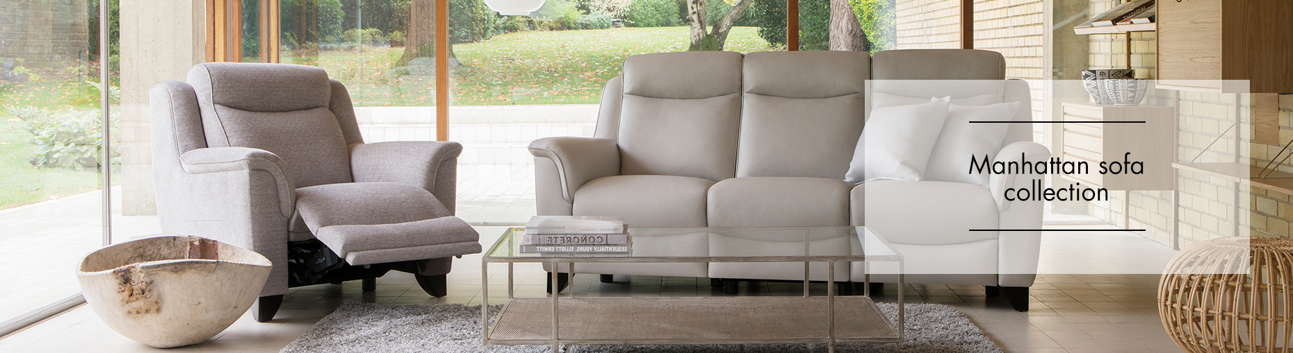 Manhattan Sofa collection by Parker Knoll at Forrest Furnishing