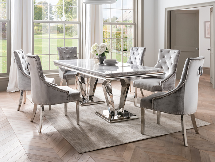 Medici dining collection at Forrest Furnishing