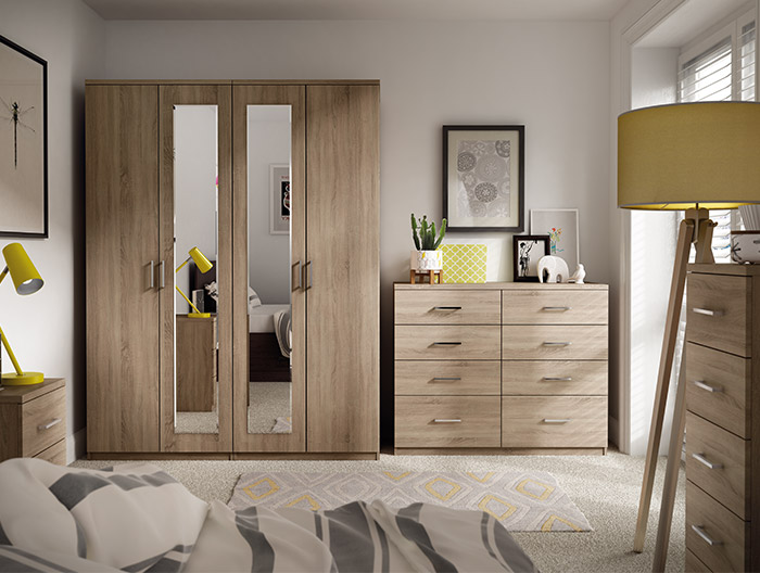 Modena Bedroom Collection at Forrest Furnishing