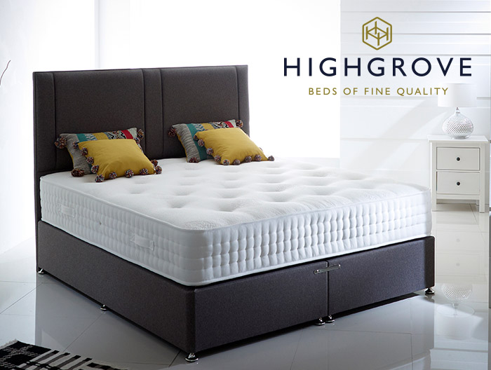 Pullman Divan collection by Highgrove beds at Forrest Furnishing