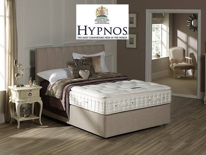 Stratus divan collection by Hypnos at Forrest Furnishing
