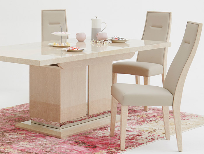 Zanzibar dining collection at Forrest Furnishing
