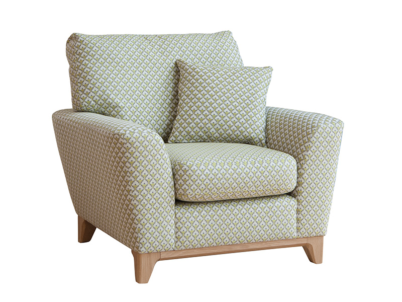 Novara Chair Priced In N3 Fabric By Ercol Forrest Furnishing