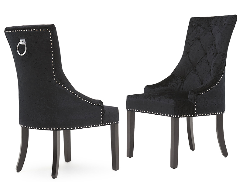 Voltaire Dining Chair Black