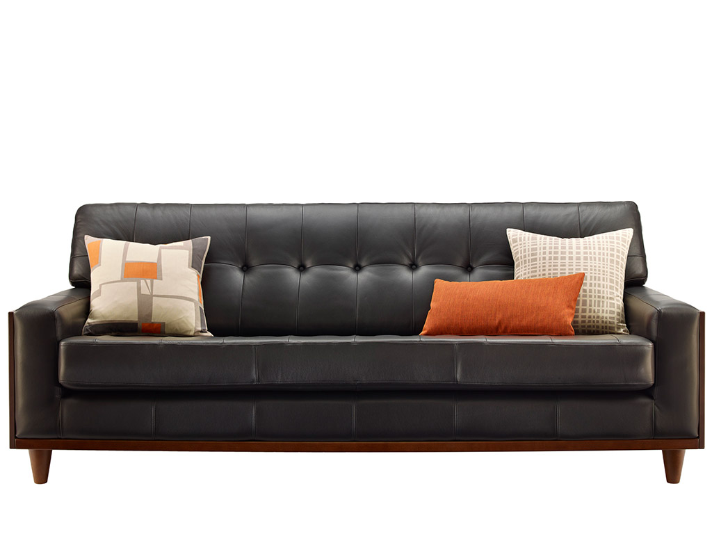59 Large Leather Sofa