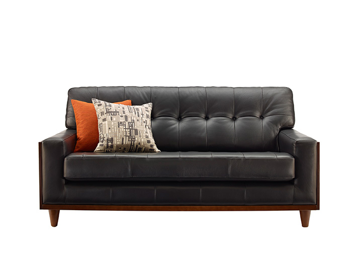 59 Small Leather Sofa