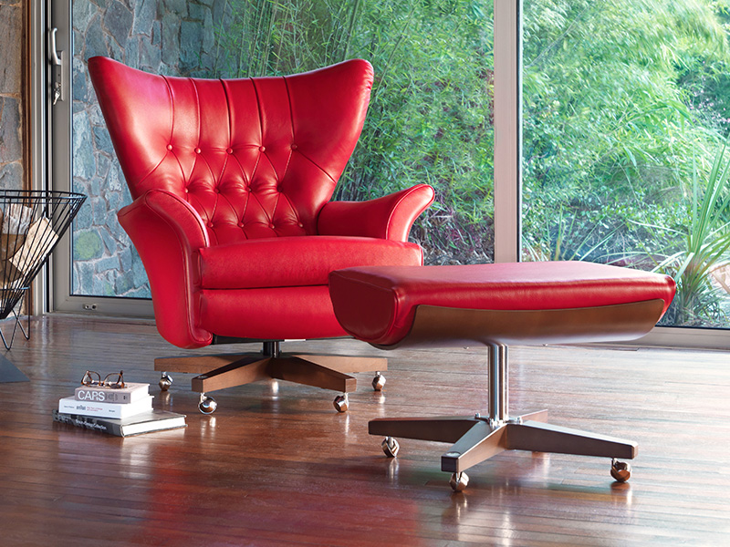 62 Leather Armchair