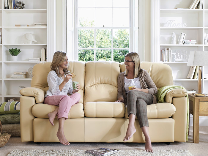Chloe Leather Sofa Collection By G Plan Upholstery