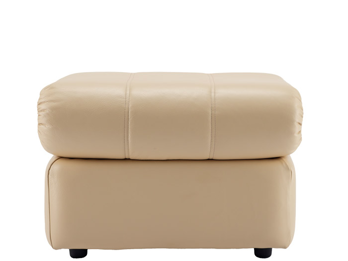 Chloe Leather Footstool