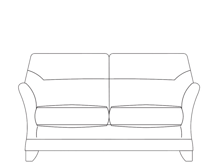 Gemma 2 Seat Leather Sofa