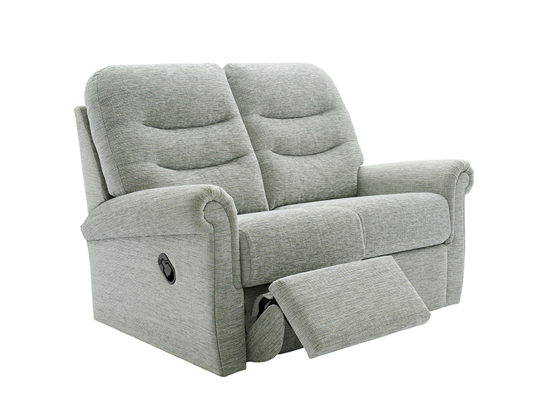 Holmes 2 Seat Double Manual Recliner Sofa
