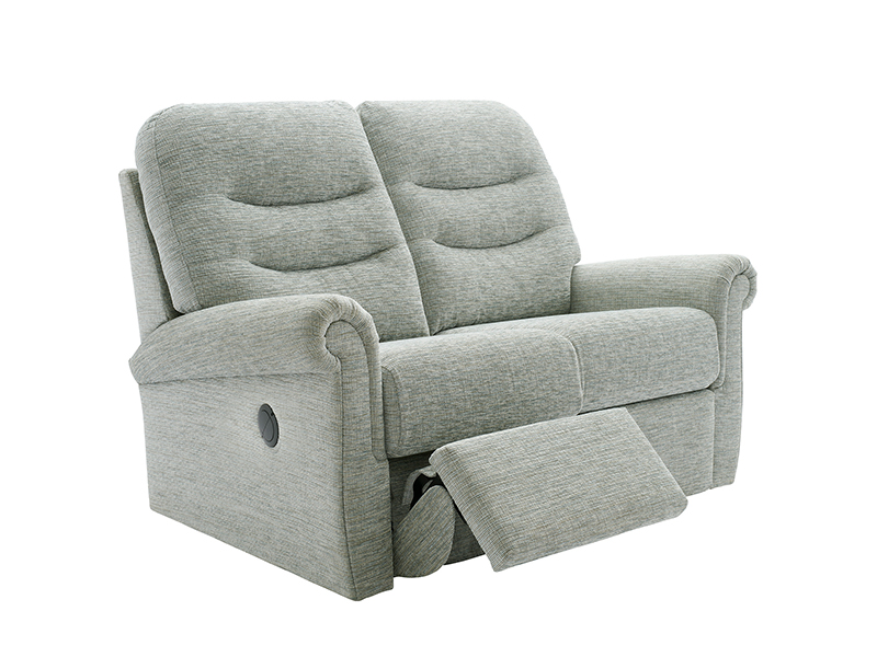 Holmes 2 Seat Double Power Recliner Sofa