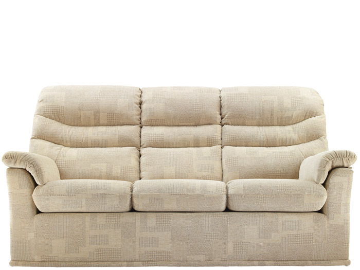 Malvern 3 Seat Fabric Sofa