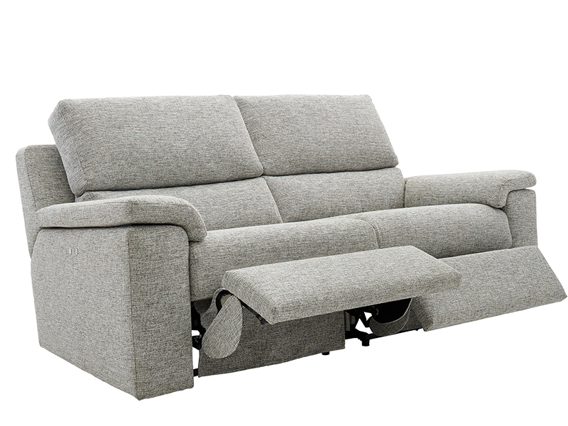 Taylor 3 Seat Double Manual Recliner Sofa