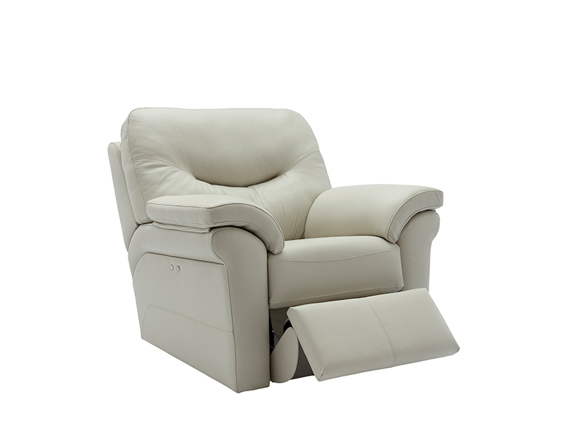 Washington Power Leather Recliner
