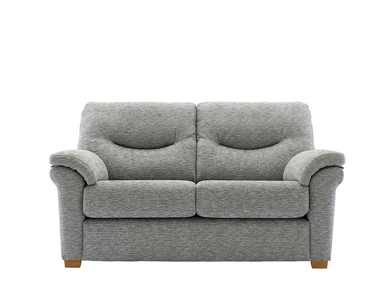 Washington 2 Seat Fabric Sofa with Wooden Feet