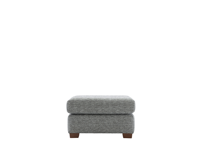 Washington Fabric Storage Stool